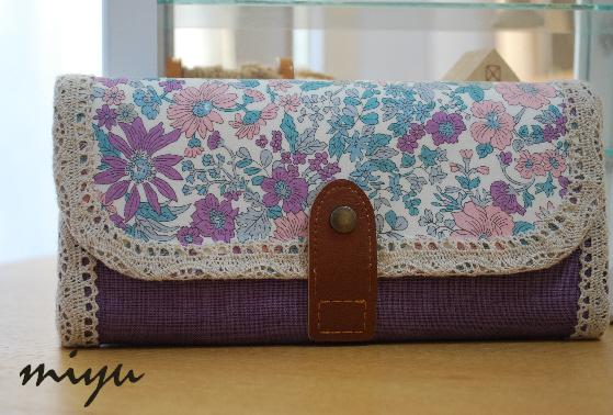 長財布(エミリー・中間紫)1
