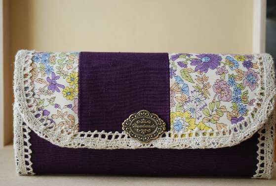 長財布(エミリー・紫)1