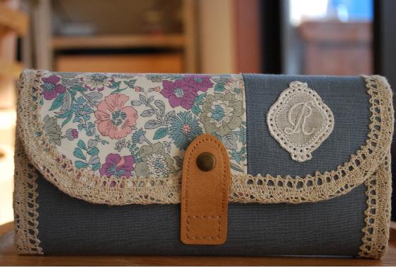 長財布(エミリー×ブルーグレー・R)1