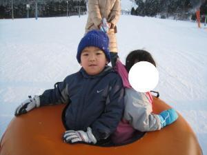 スキー場!