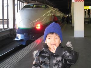新幹線200系と♪