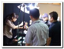中部日本放送(CBC) 「ときの探訪」取材