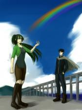 虹色のカケラ(かみおさま3)