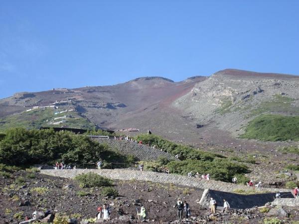富士登山2010.8.27