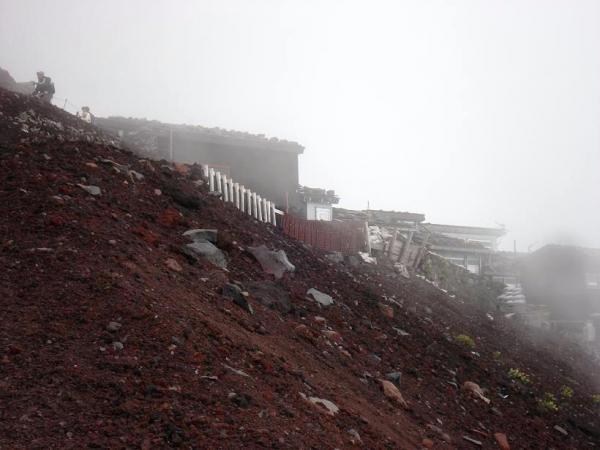 富士登山2010.8.27②