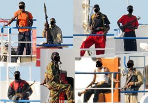 ソマリア沖の海賊