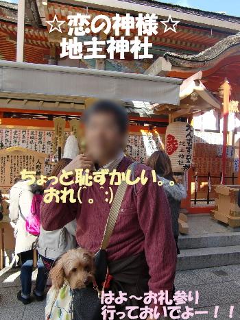 地主神社 てっぴー