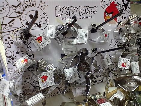 Angry Birds piparimuoto