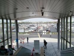 幕張フリマ2011 駐車場