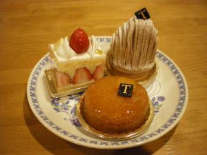 トロワグロケーキ