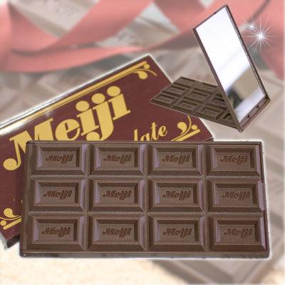 チョコの鏡