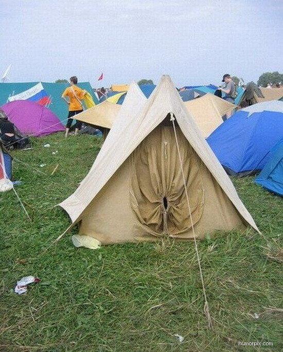 いいえ。このテントから出てくること。それが勇気。