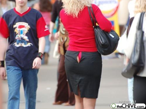 女性の場合後ろ側