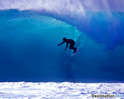 大きな波を待って