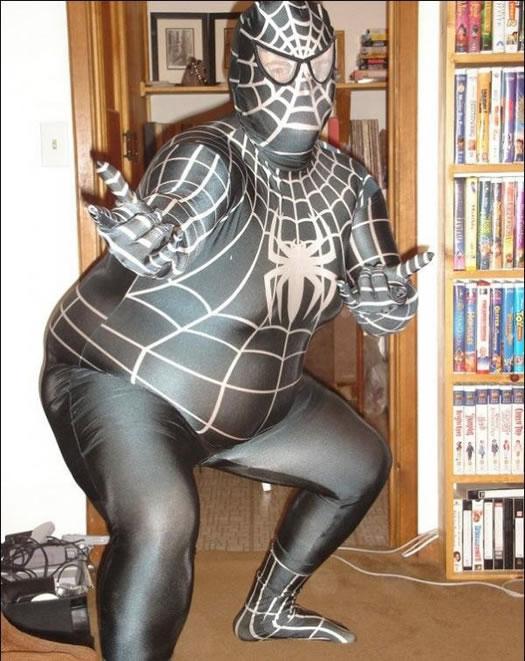 蜘蛛の人?