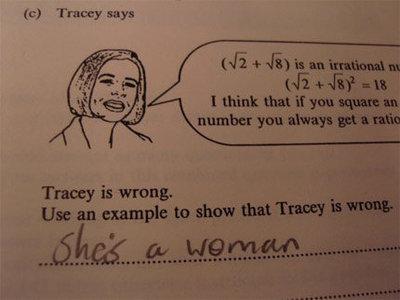 彼女の名前はトレーシー