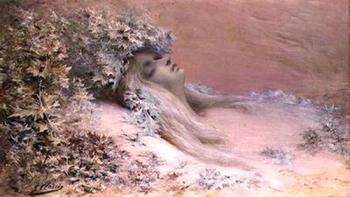 Ophelia Georges Jules Victor Clairin