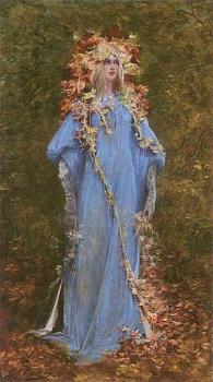 Ophelia- Georges Jules Victor Clairin1