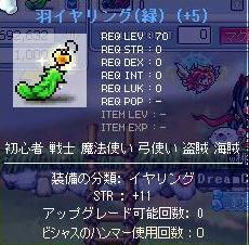 羽イヤリング-6