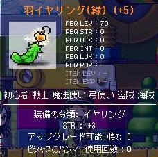 羽イヤリング-8