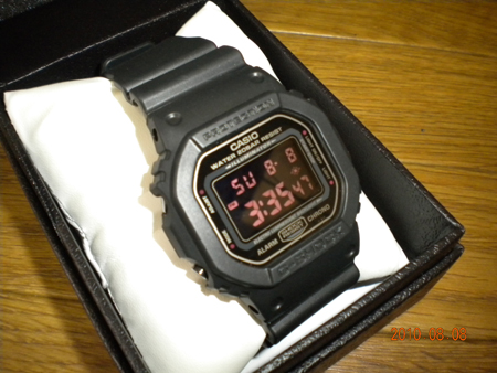 CASIO G-SHOCK MAT BLACK RED EYE DW-5600MS-1DR