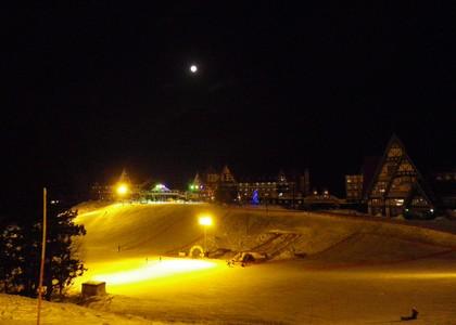 満月スキー