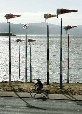 Meridian Wellington Wind Sculpture series