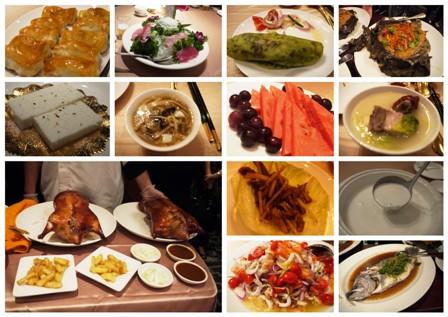 台湾初日夕食