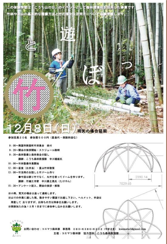 コエマツ竹と遊ぼっ