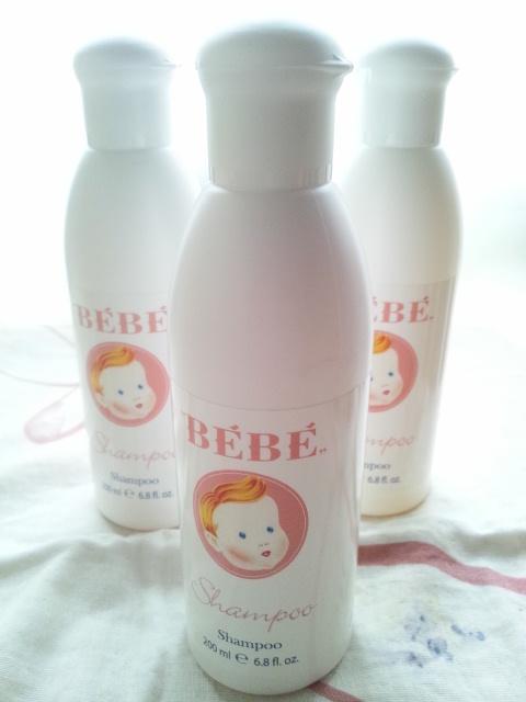 bebe shampoo