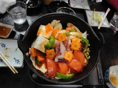 鳥兆 トマト鍋