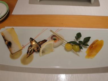 江戸銀 前菜