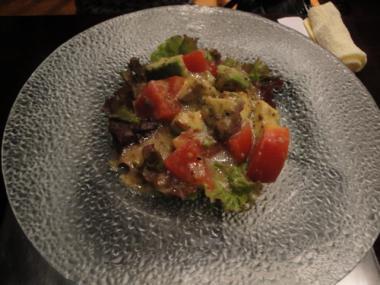 五衛 アボカドとトマトのサラダ