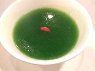 賞味会14 富里ホウレン草のふかひれスープ