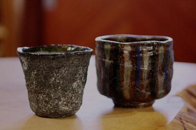 益子焼 湯呑み茶碗