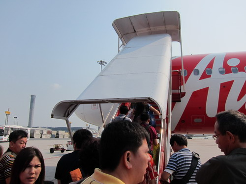 1a-Air asia (BKK-ペナン) 11