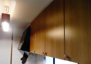 キッチン扉 張り替え前2