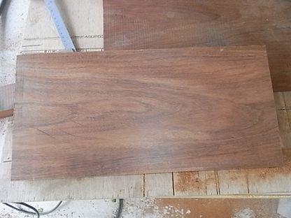 古木 板材 プレーナー掛け 比較