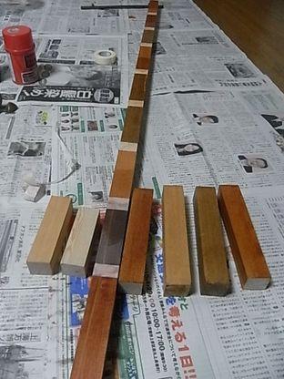 米栂 ワトコ オスモ ステイン テスト塗装