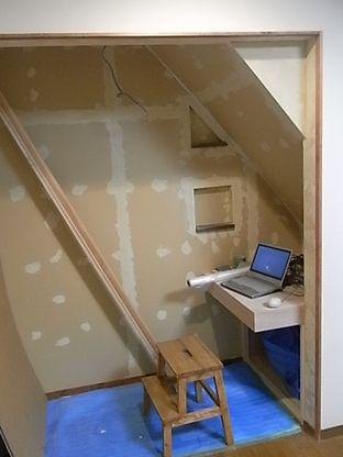 クローゼット 取り壊し 小部屋にリフォーム