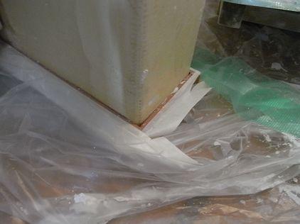 塗り壁 マスキング 養生テープ 壁の厚み