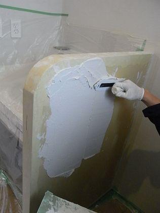 シラス壁 塗り壁 コテ塗り 順序