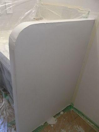 シラス 塗り壁 2回目 コテ仕上げ