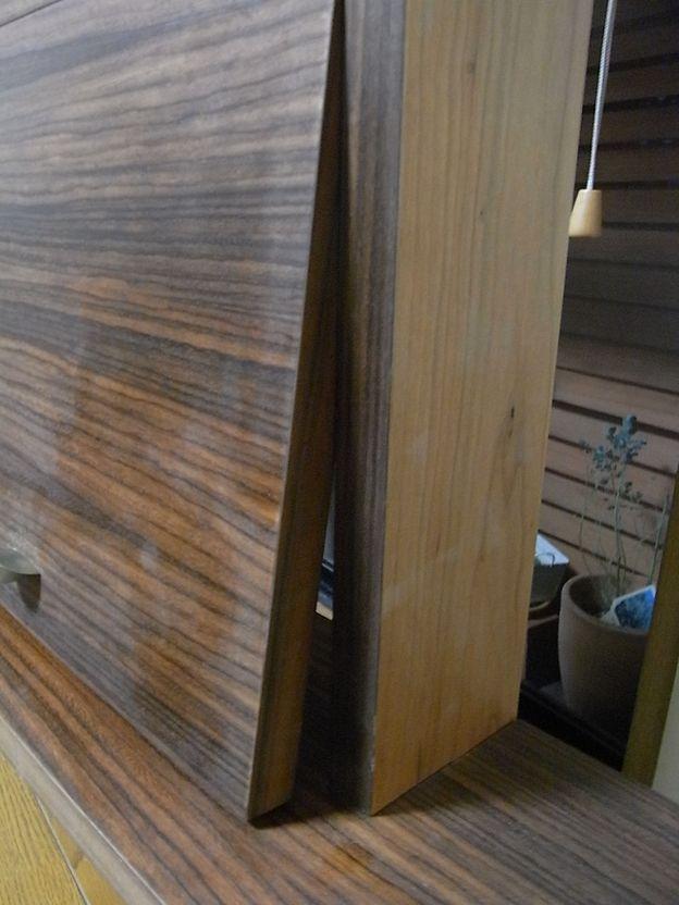 突き板 木工 ローズウッド ブラックチェリー