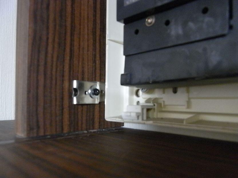 ブレーカー ボックス 取り付け 木工