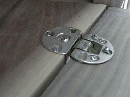 テレビボード ドロップ丁番 埋め込み ガレージ木工ブログ