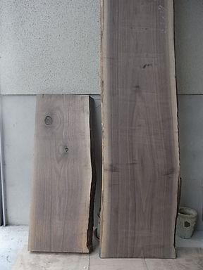 ウォルナット板材1