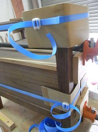 木工 ベルトクランプもどき 荷造りPPバンド  ストッパー