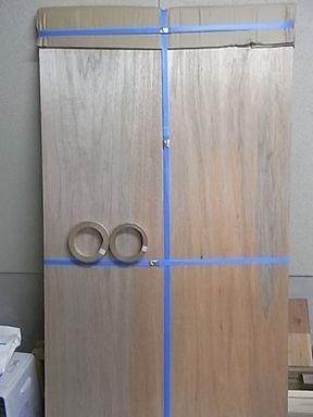 ウォルナット 突き板 木口テープ