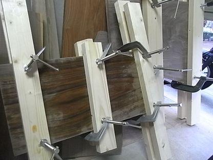 木材 反り 修正